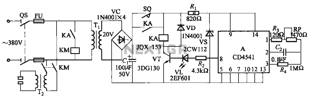 One Foot Spot Welder Circuit Uses Ic Cd4541 Under Other Circuits