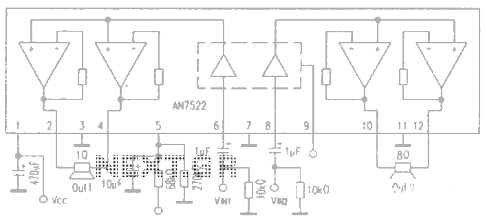 AN7522 circuit diagram