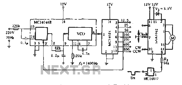 saa1042 stepper motor control circuit under stepper motor circuits