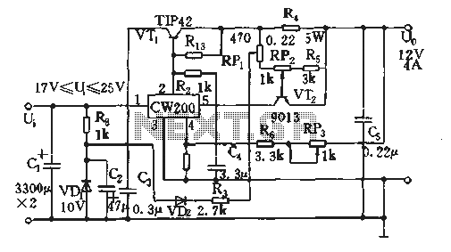 Save current protection circuit regulator - schematic