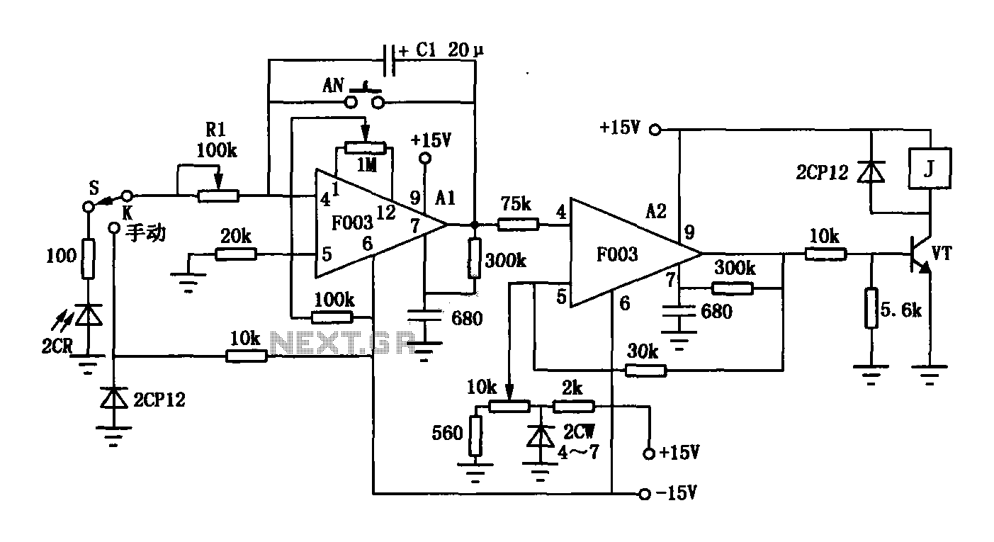 Timer Circuit Page 2 Meter Counter Circuits Inverter 4 Power Supply Nextgr Op Amp F003 Composition Of Automatic Exposure
