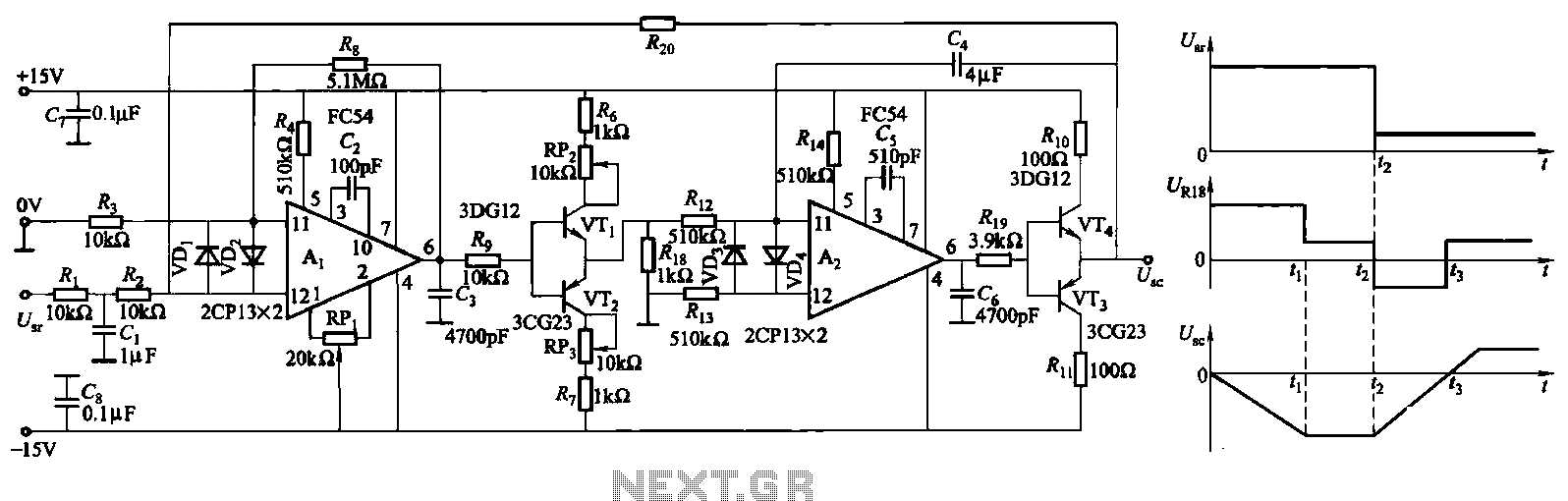 Buffer Circuit Page 2 Other Circuits Next Gr Auto Electrical Thermocouple Amplifier Using Ca3193 3