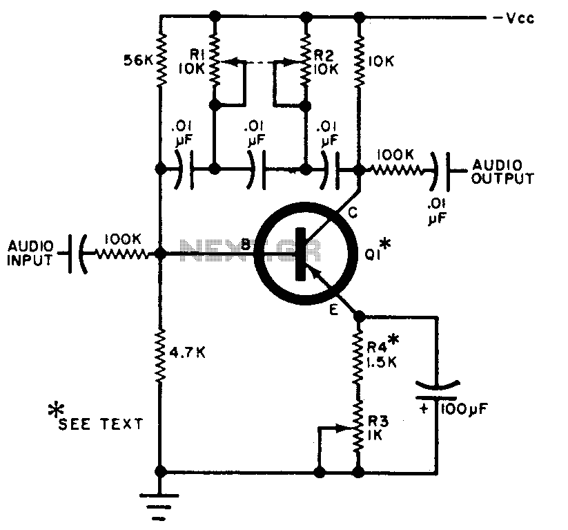 Audio frequency multiplier circuit diagram