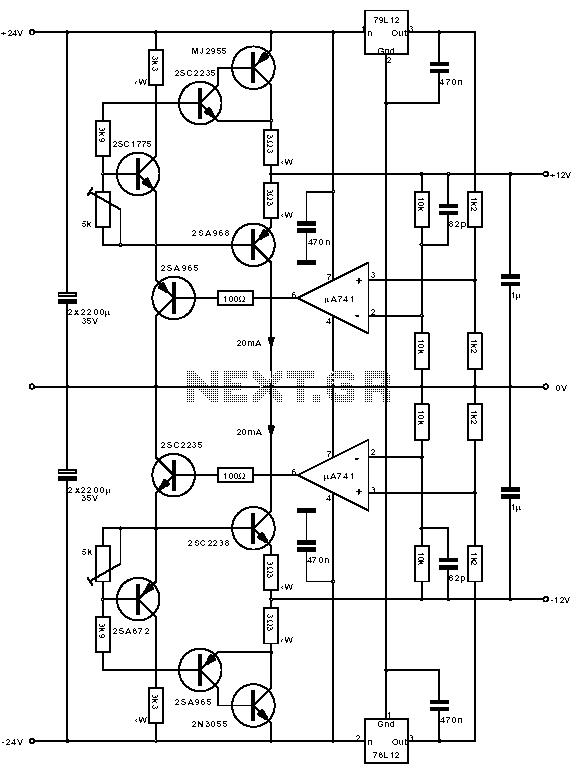 CS8412 PCM63 classic tube amp power supply schematic - schematic