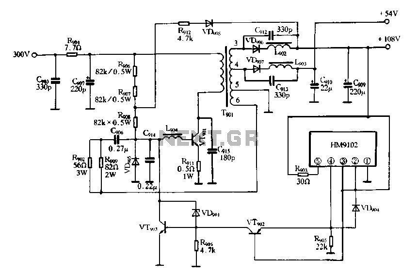 U0026gt  Rf  U0026gt  Transmitters  U0026gt  Am Broadcast Transmitter Schematic L8255