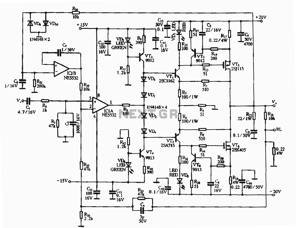 Audio Amplifier Circuit Page 4 Circuits Dual Ne5532 Subwoofer Processing Low Pass Filter Board 30w