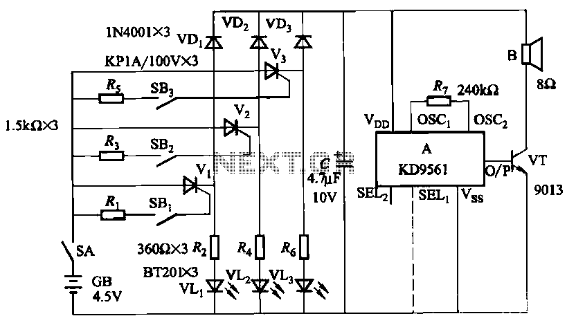 alarm circuit page 2   security circuits    next gr