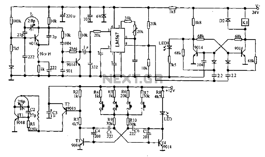 remote control circuit page 2   automation circuits    next gr