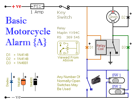How To Make A Remote Control Circuit Furthermore Chopper Wiring