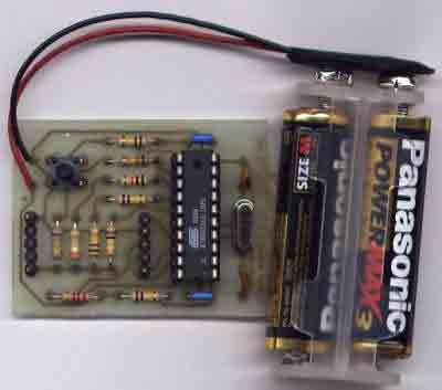 AVR Microcontroller Digital Clock with ATtiny2313 - img1