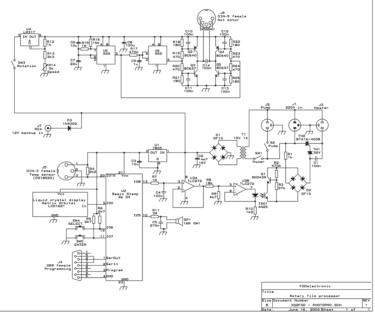 Circuit Diagram Video Camera Wiring Libraries Top Circuits Page 944 Nextgr Libraryphoto Film Processor 2