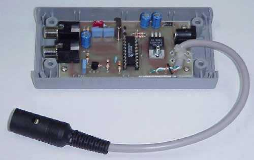 Composite Video titling Generator - schematic