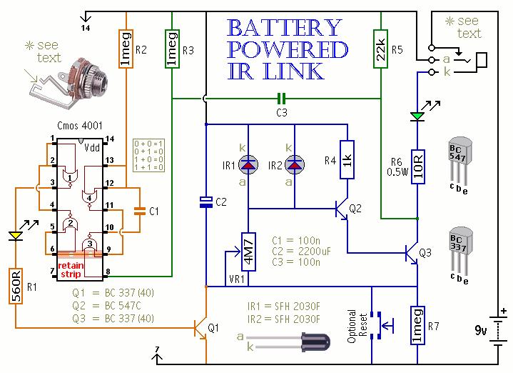 IR Link - schematic