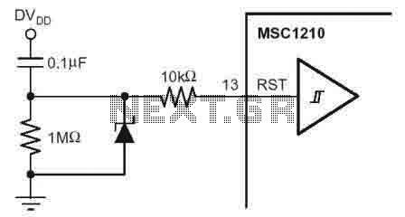 MSC1210 Reset Circuit - img1