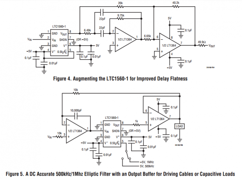 Tiny 1MHz Lowpass Filter Uses No Inductors - schematic