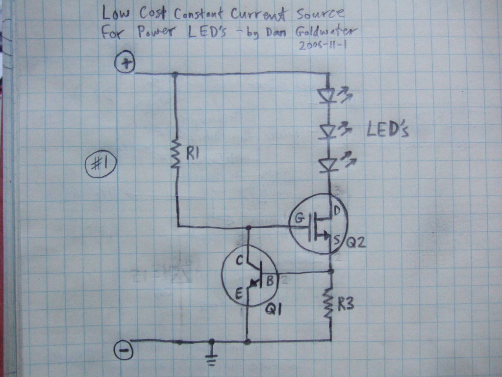New Circuits Page 128 Circuit Diagram Schematic Likewise Toy Organ 555 Timer Simplest Light With Constant Current Led