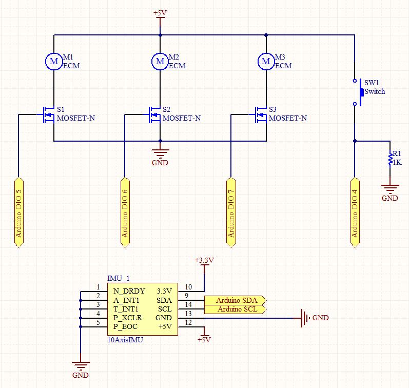 Arduino project - schematic