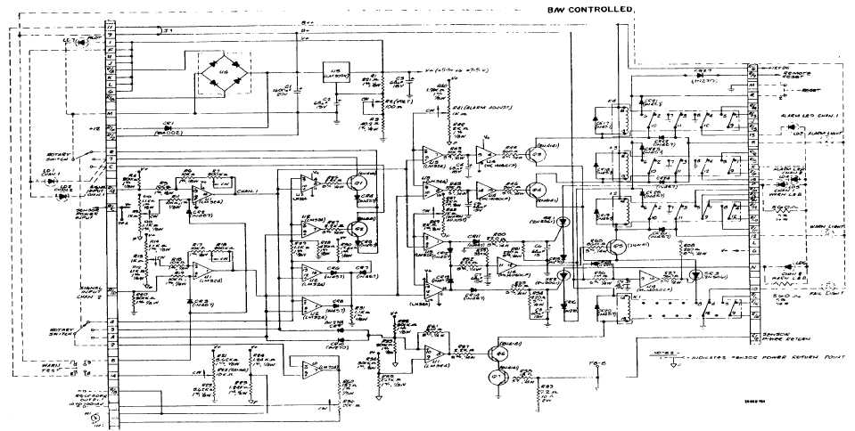 CD802/832 Printed Circuit Board Schematic Diagram - schematic