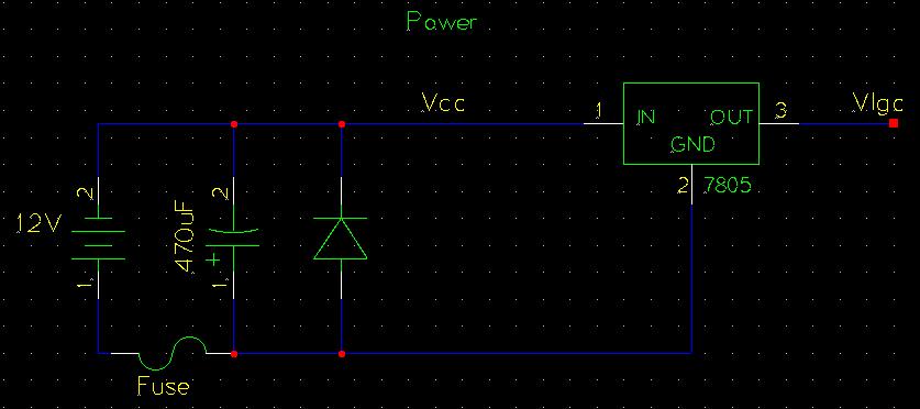 Bipolar Stepper Motor Driver Circuit - schematic