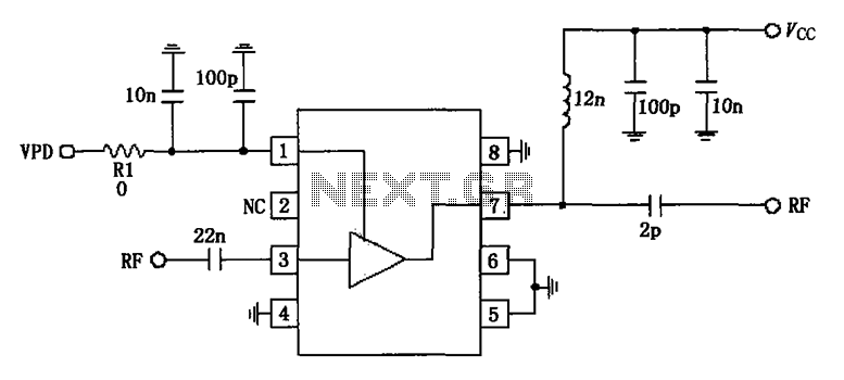u0026gt  other circuits  u0026gt  836mhz low noise amplification circuit