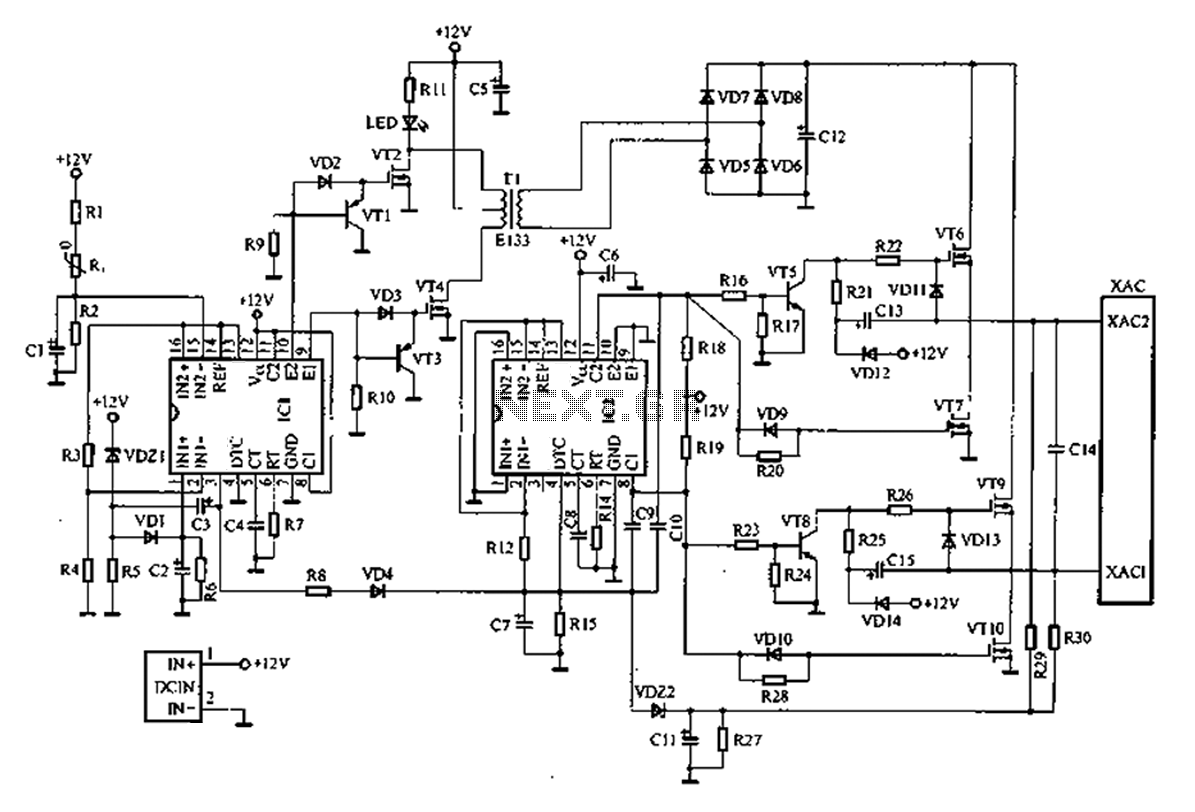 New car inverter circuit diagram wiring library other circuits u003e demodulators u003e a common car inverter circuit rh next gr 1000 watt inverter circuit diagram 1000 watt inverter circuit diagram cheapraybanclubmaster Gallery