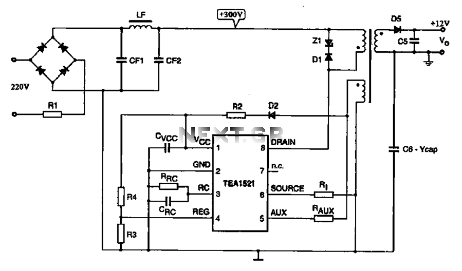 switching power supply schematic pdf