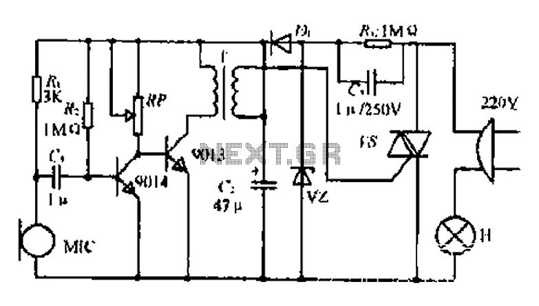 u0026gt  light laser led  u0026gt  lighting  u0026gt  a voice activated lights control circuit l58722