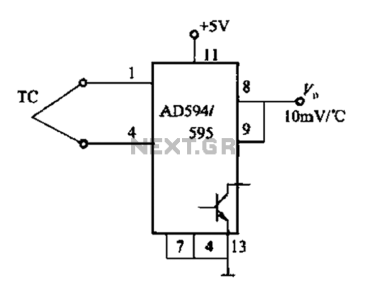 ad594 to a 597 basic application circuit under other