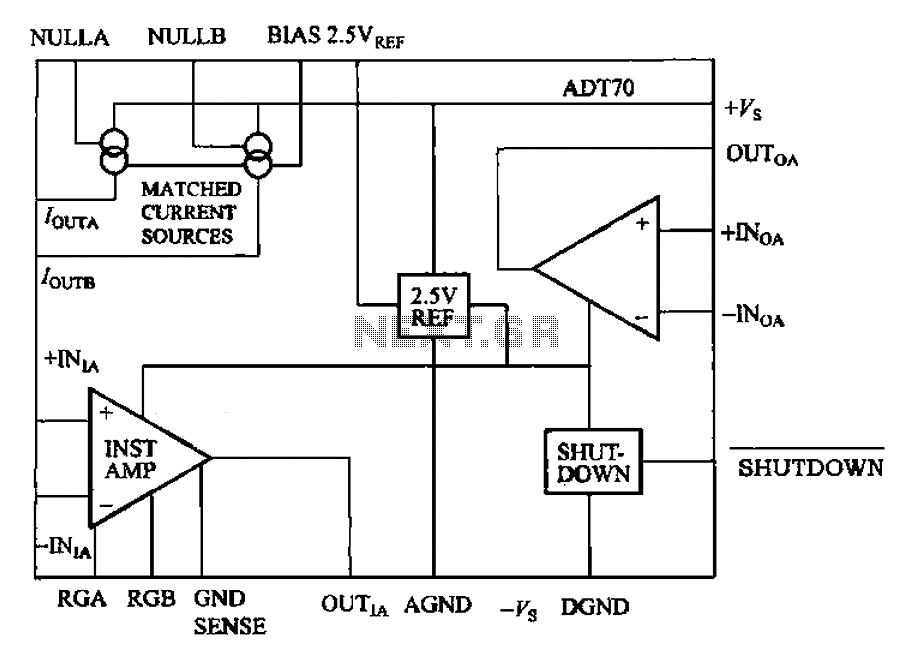 Adt70 Internal Functional Block Diagram Under Other