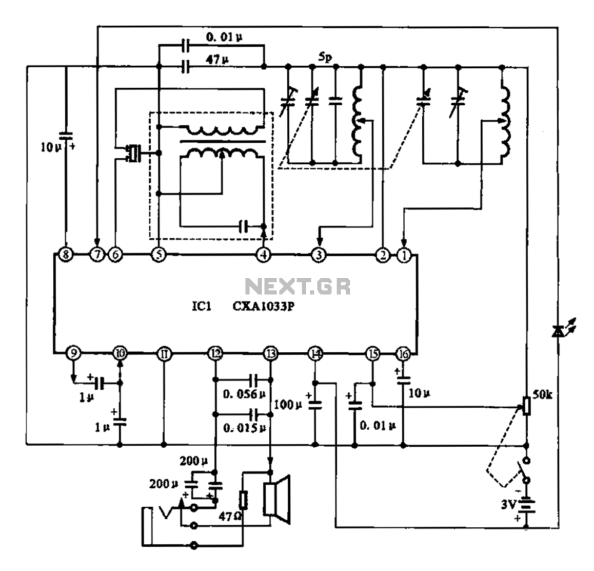 am radio circuit : RF Circuits :: Next.gr on radio wiring, antique radio diagrams, radio invention, radio telescope diagram, cb radio diagrams, radio circuit diagram, radio transistors, radio receiver diagram, radio wire, radio components, radio resistors, radio system diagram, radio ginen, crystal radio building diagrams, radio schematic symbols, wiring diagrams, telephone circuits diagrams, simple electrical diagrams, components of electrical circuit diagrams, radio listen live,