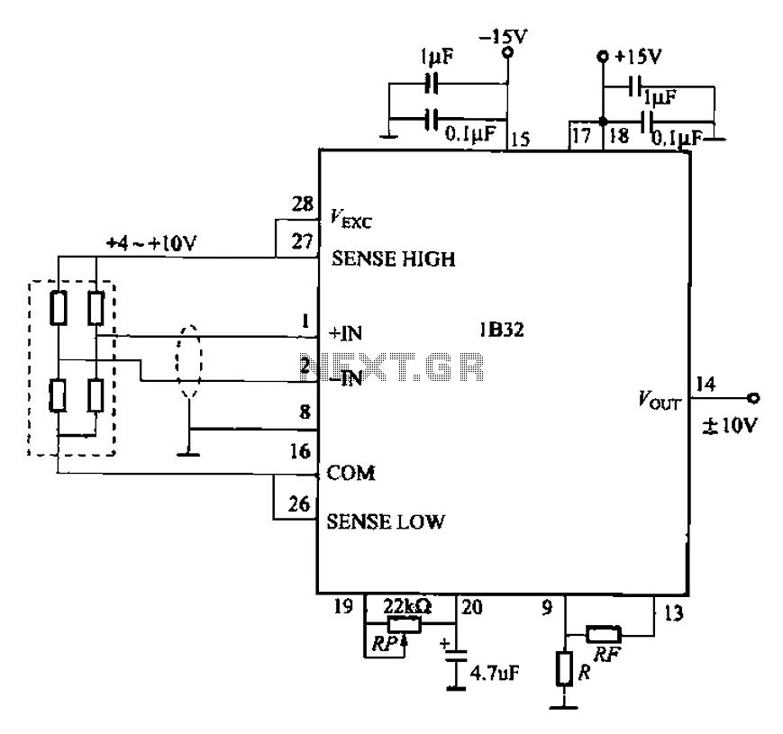 Constant Voltage measuring circuit - schematic