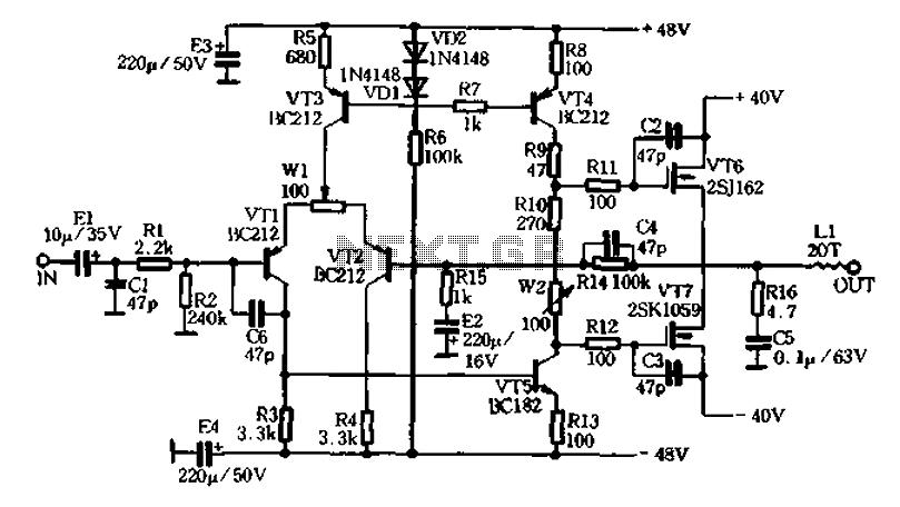 u0026gt  other circuits  u0026gt  imitation aura va50 amplifier l58979