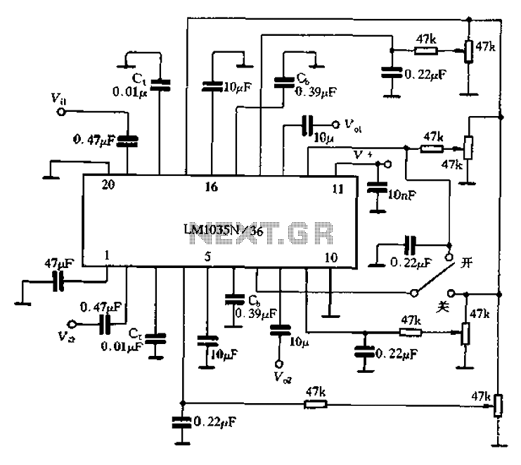 lm1035 36 application circuit   other circuits