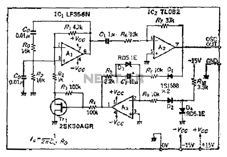 And put the intermodal server preamplifier circuit diagram - schematic
