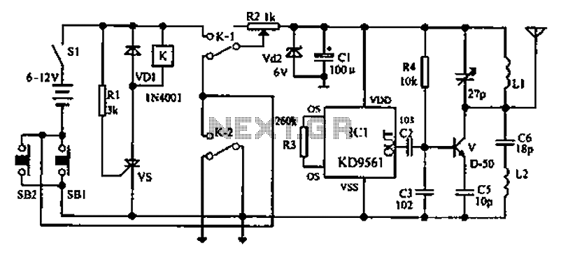 alarm circuit page 4   security circuits    next gr