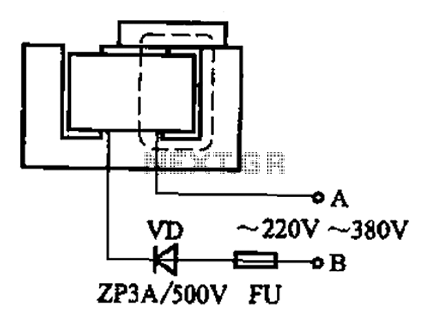 Simple charge circuit porcelain - schematic