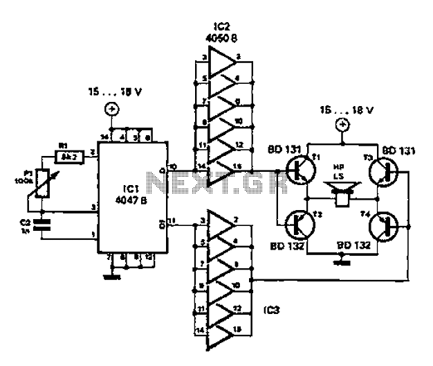 simple circuit diagram repellent under other circuits