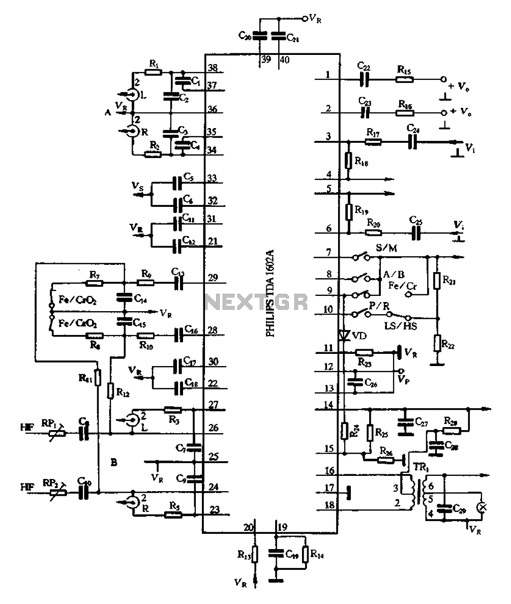 Results Page 7 About Car Game Searching Circuits At Gt Usb Powered Mini Amplifier L23486 Nextgr Tda1602a Application Circuit
