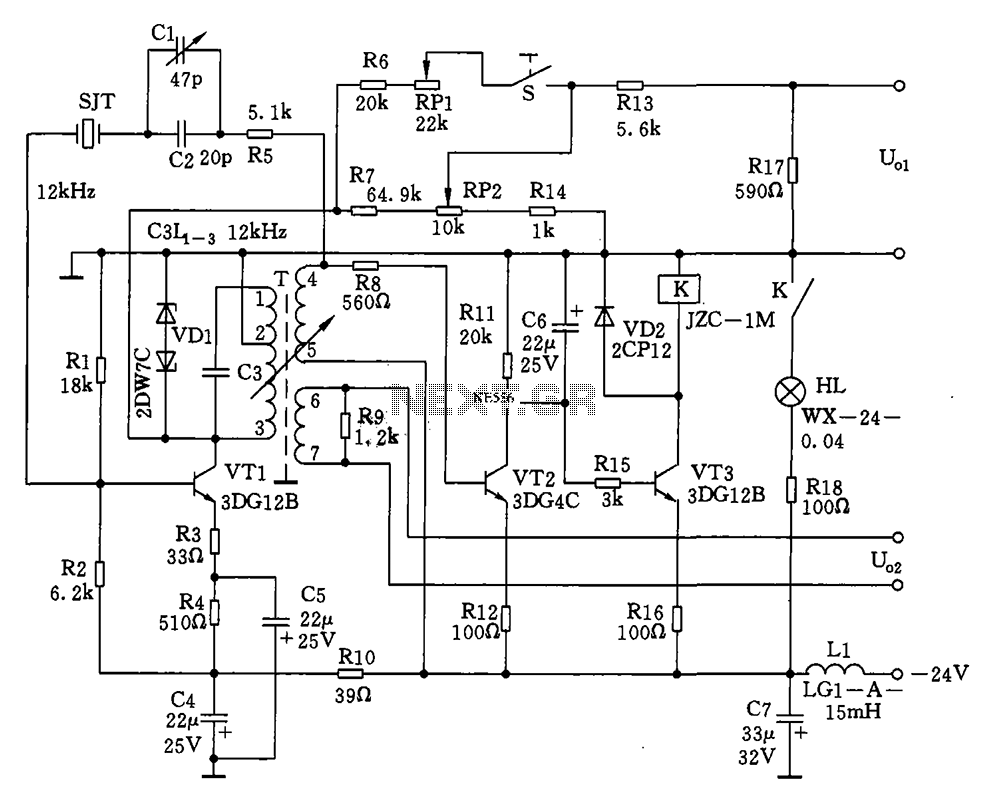 Oscillator Circuit Diagram Free Wiring For You Using 555 Timer Diagrams Image 12khz If Circuits Simple