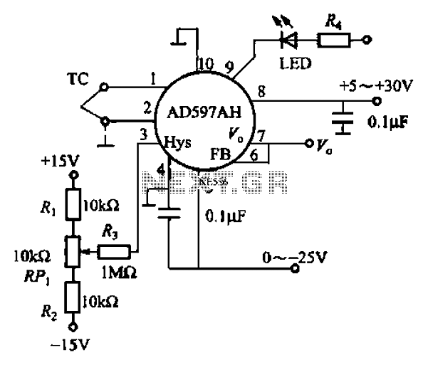 ad594 to 597 basic application circuit b under other