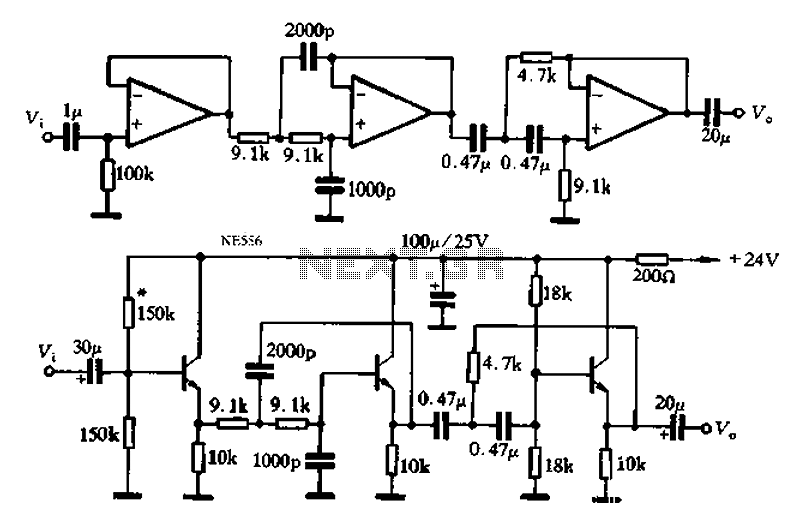 audio band-pass filter under audio filters circuits