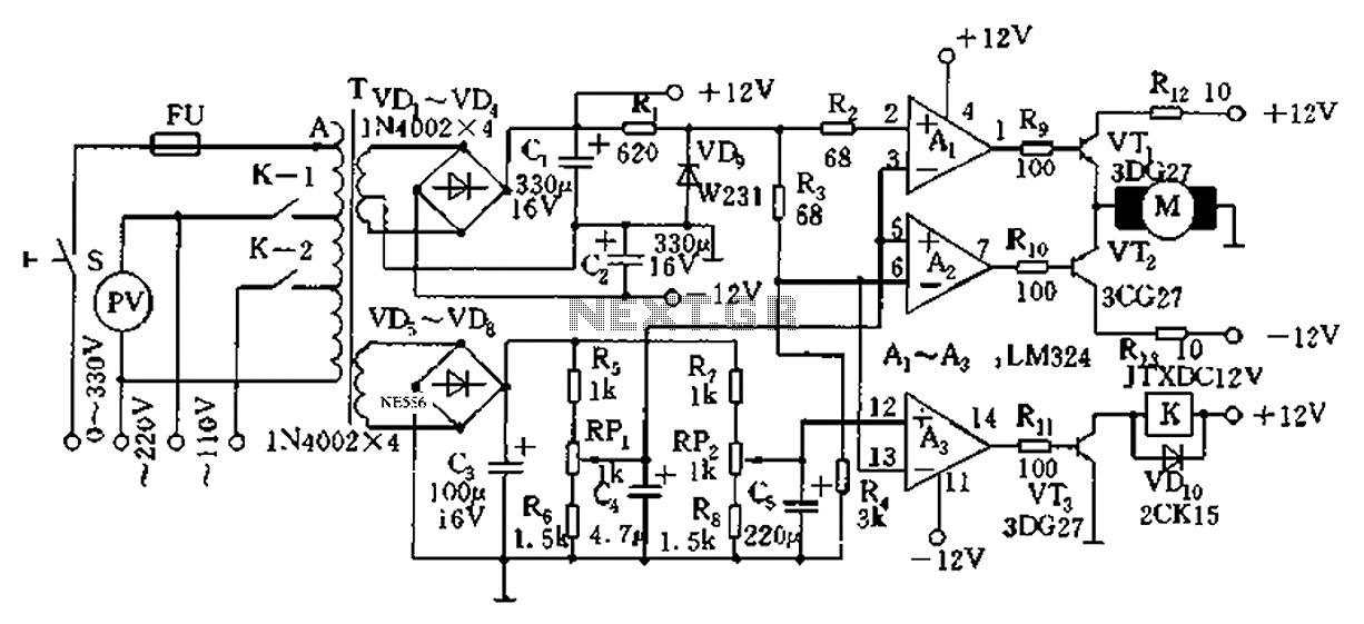 automatic ac voltage regulator circuit txd1742 continuous. Black Bedroom Furniture Sets. Home Design Ideas