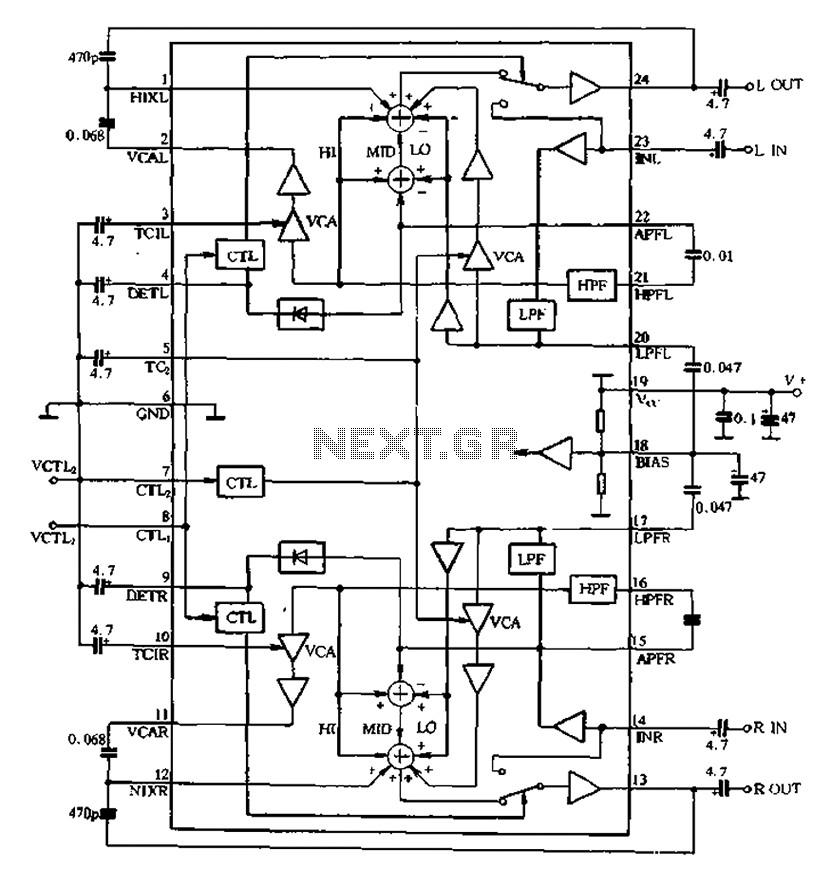 u0026gt  other circuits  u0026gt  ba3884 application circuit within the