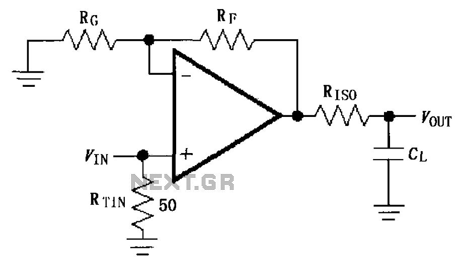 u0026gt  other circuits  u0026gt  capacitive load drive circuit diagram of the max4450 4451 l59337