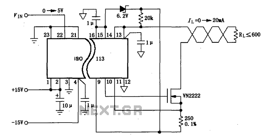 Signal Isolation Circuit : Gt other circuits constituted by the iso ma