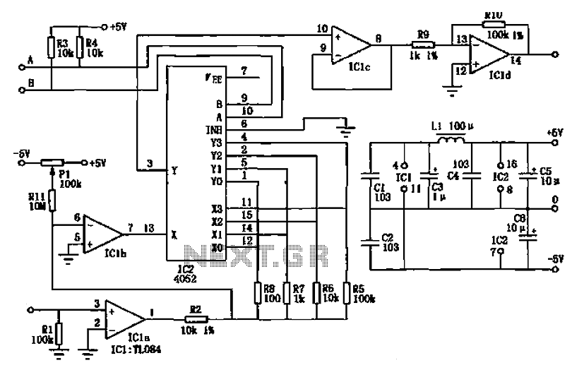 gain amplifying circuit diagram or programming under other circuits