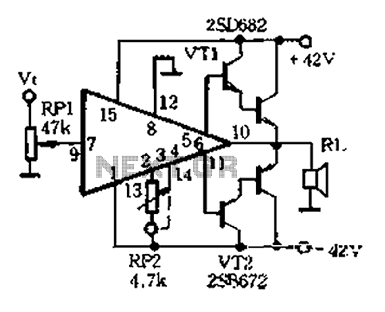 high-performance dc amplifier driving circuit ap500a-01 under other circuits