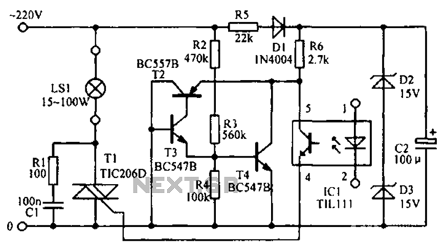 led signal amplifying circuit diagram under led circuits