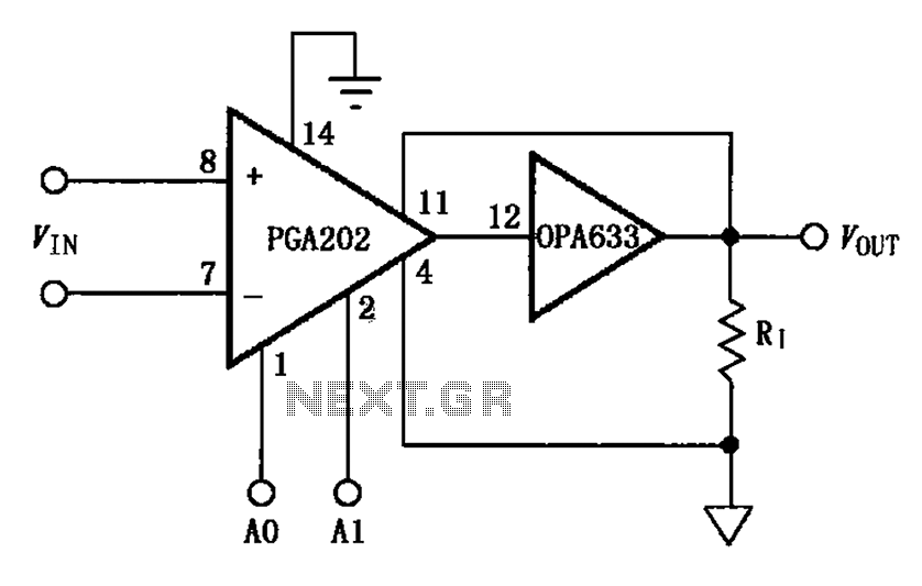 output current boost circuit pga202 opa633 under other circuits
