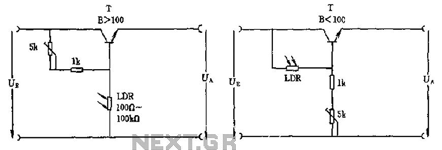 light sensor circuit page 2 sensors detectors circuits. Black Bedroom Furniture Sets. Home Design Ideas